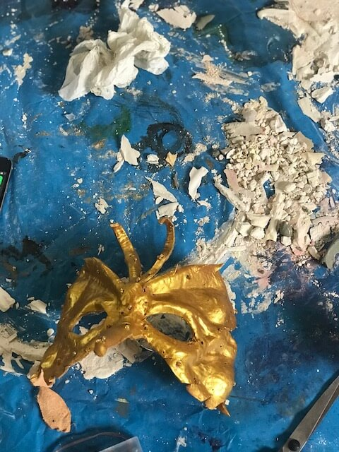 Mask Making Workshop Italy