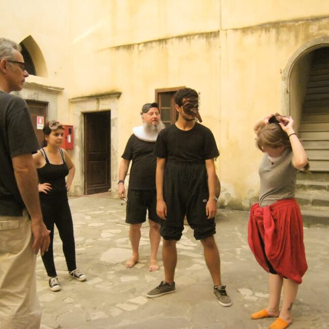 commedia dell arte in Florence